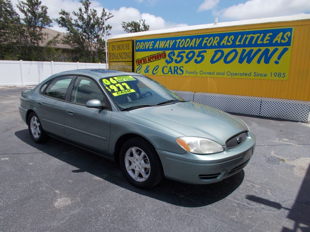 C c cars 2006 ford taurus pinellas park fl